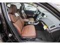 2018 Acura TLX Espresso Interior Front Seat Photo
