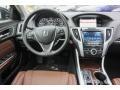 2018 Acura TLX Espresso Interior Dashboard Photo