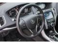 2018 Acura TLX Ebony Interior Steering Wheel Photo
