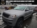 2018 Billet Silver Metallic Jeep Grand Cherokee Overland 4x4 #124458575