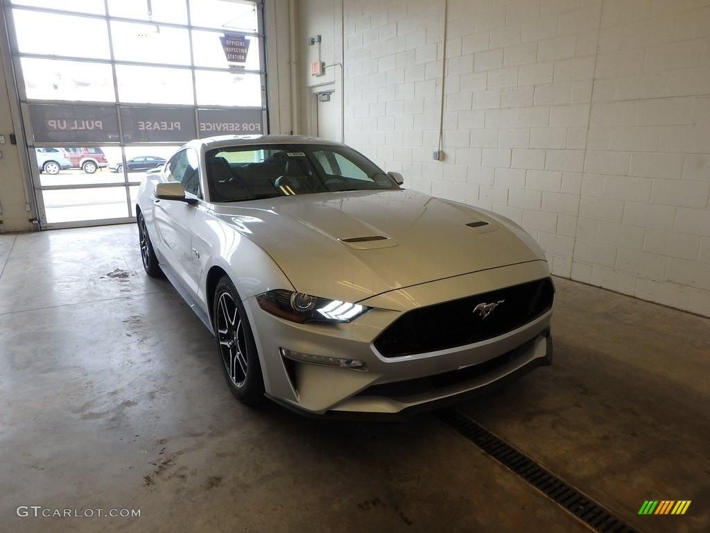 2018 Mustang GT Premium Fastback - Ingot Silver / Ebony photo #1