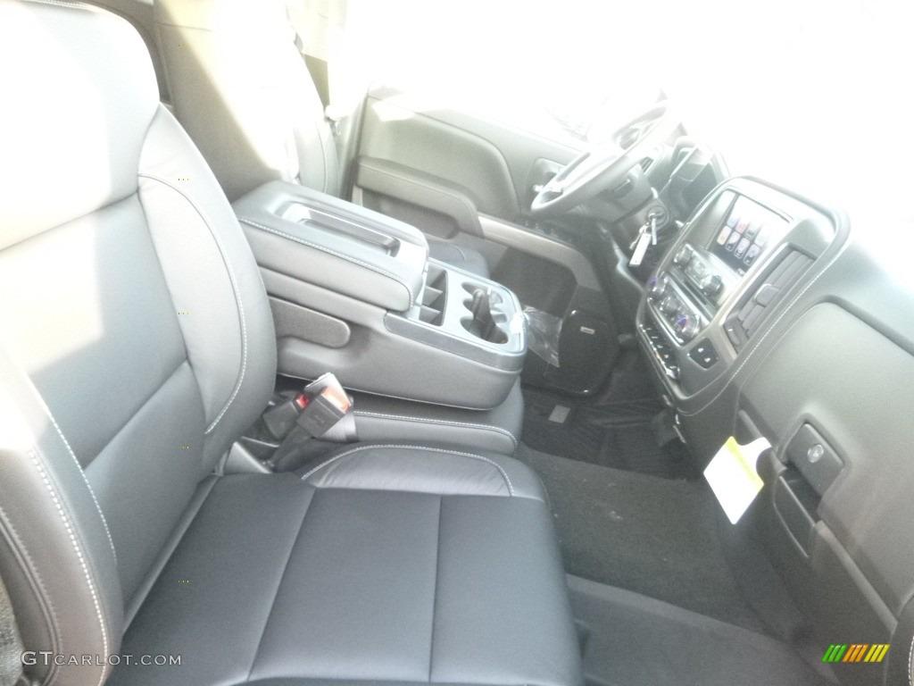 2018 Silverado 1500 LTZ Crew Cab 4x4 - Black / Jet Black photo #8