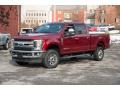 Ruby Red 2018 Ford F250 Super Duty Gallery