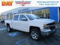 2018 Summit White Chevrolet Silverado 1500 LT Crew Cab 4x4  photo #1