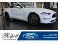 2018 Oxford White Ford Mustang GT Fastback  photo #1
