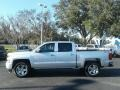 Silver Ice Metallic - Silverado 1500 Custom Crew Cab 4x4 Photo No. 2