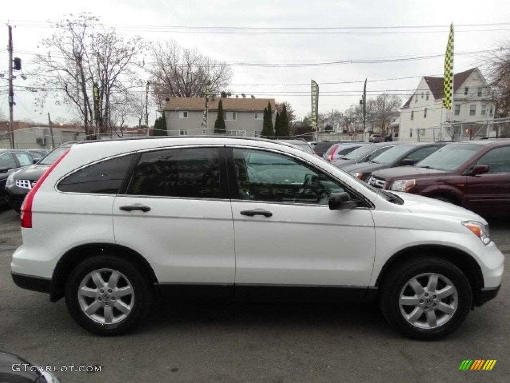 2011 CR-V SE 4WD - Taffeta White / Black photo #8