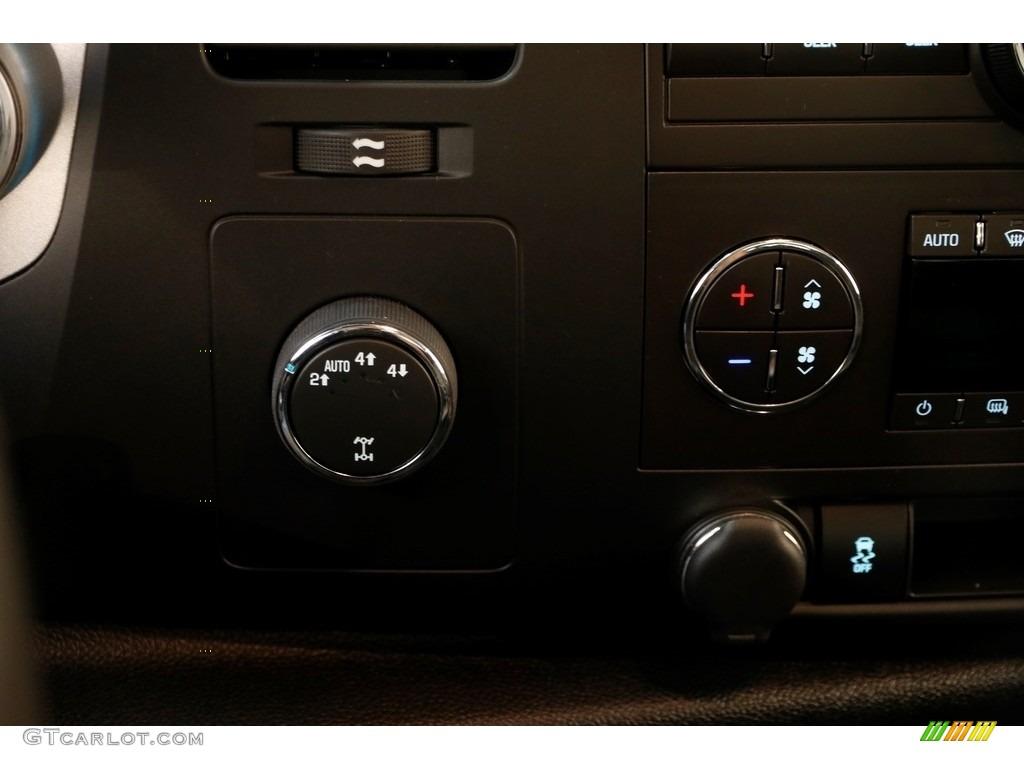 2013 Silverado 1500 LT Extended Cab 4x4 - Blue Topaz Metallic / Ebony photo #9