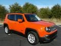 2017 Omaha Orange Jeep Renegade Latitude  photo #4