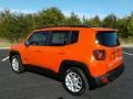 2017 Omaha Orange Jeep Renegade Latitude  photo #8