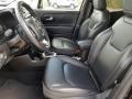 Black Interior Photo for 2017 Jeep Renegade #124613794