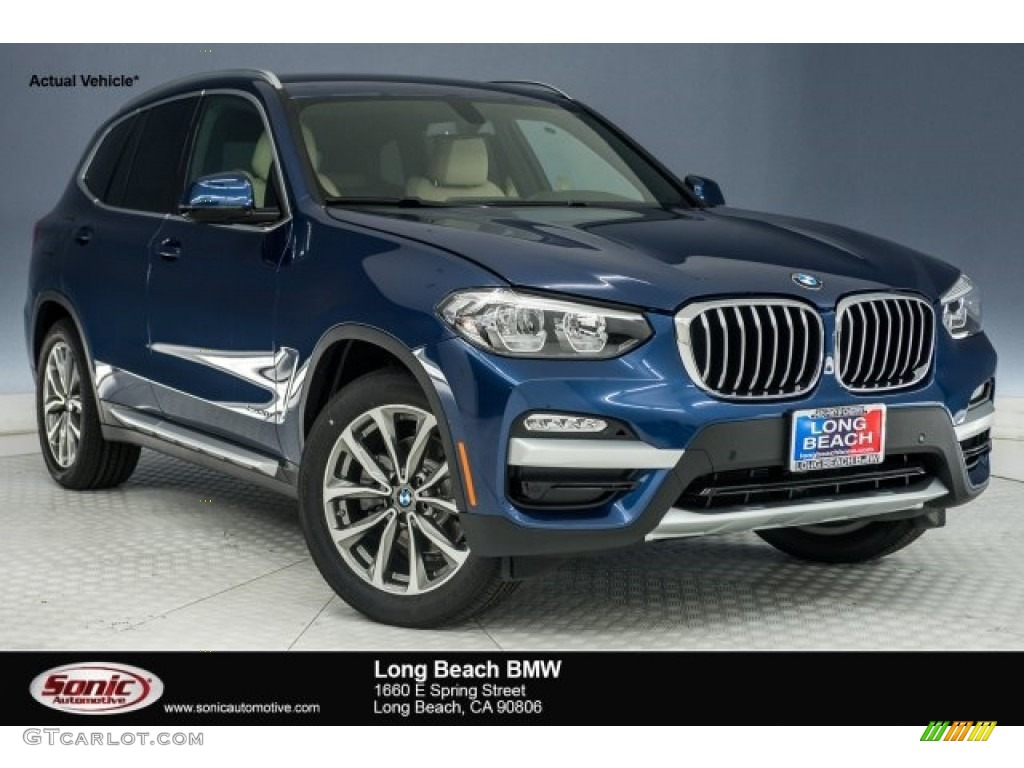 Bmw X3 2018 Interior >> 2018 Phytonic Blue Metallic BMW X3 xDrive30i #124603918 Photo #8 | GTCarLot.com - Car Color ...