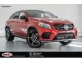 designo Cardinal Red Metallic - GLE 43 AMG 4Matic Coupe Photo No. 1