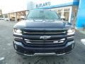 2018 Centennial Blue Metallic Chevrolet Silverado 1500 LTZ Crew Cab 4x4  photo #3
