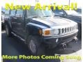 Midnight Blue Metallic 2007 Hummer H3 X