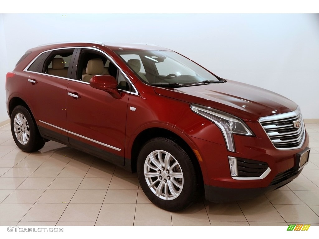2017 Red Passion Tintcoat Cadillac Xt5 Fwd 124684840 Photo 20 Car Color Galleries