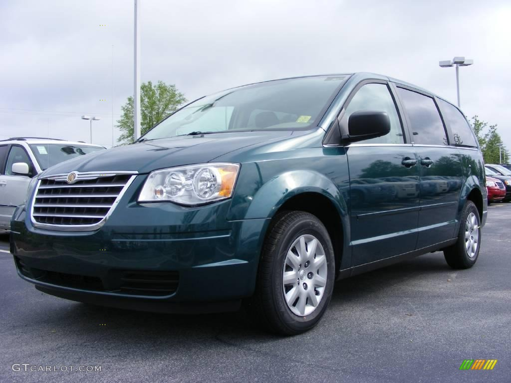 2009 melbourne green pearl chrysler town country lx. Black Bedroom Furniture Sets. Home Design Ideas