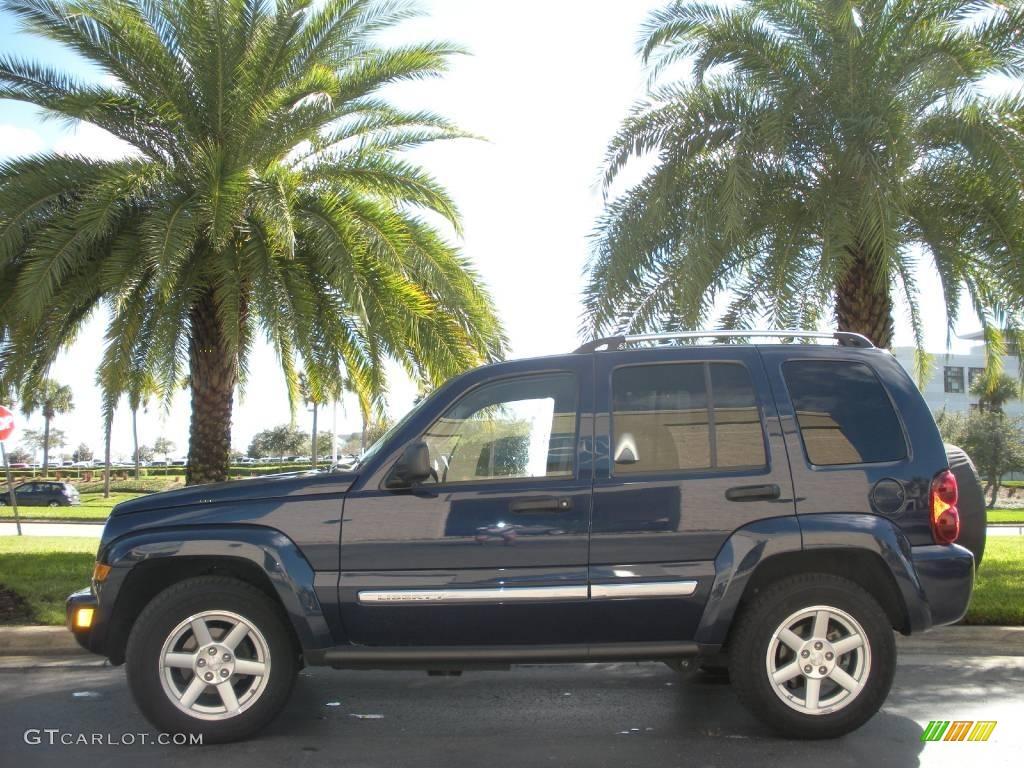 2006 Jeep Liberty Sport >> 2007 Midnight Blue Pearl Jeep Liberty Limited #1241488 ...