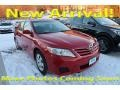 Barcelona Red Metallic 2010 Toyota Camry LE