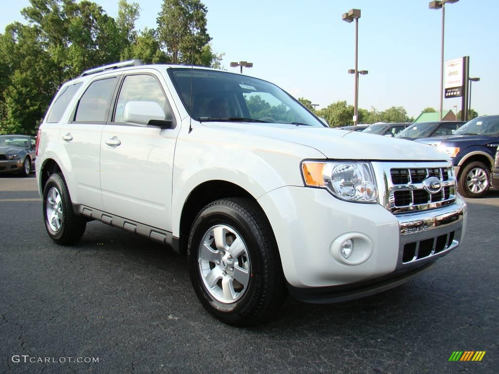 2009 white suede ford escape limited 12453343 car color galleries. Black Bedroom Furniture Sets. Home Design Ideas