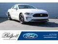 2018 Oxford White Ford Mustang EcoBoost Fastback  photo #1