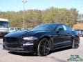 2018 Shadow Black Ford Mustang GT Premium Fastback  photo #1