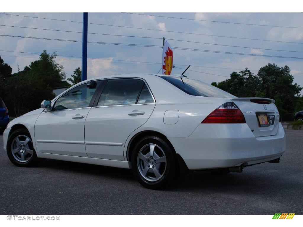 2006 premium white pearl honda accord hybrid sedan. Black Bedroom Furniture Sets. Home Design Ideas