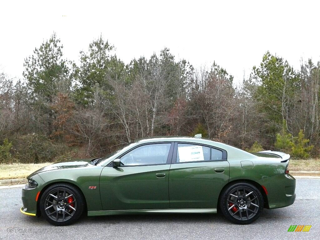 Go Mango Charger >> 2018 F8 Green Dodge Charger R/T Scat Pack #124777350 Photo #4 | GTCarLot.com - Car Color Galleries