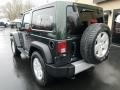 2011 Natural Green Pearl Jeep Wrangler Sahara 4x4  photo #3
