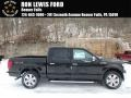 Shadow Black - F150 Lariat SuperCrew 4x4 Photo No. 1