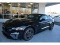 2018 Shadow Black Ford Mustang GT Fastback  photo #3