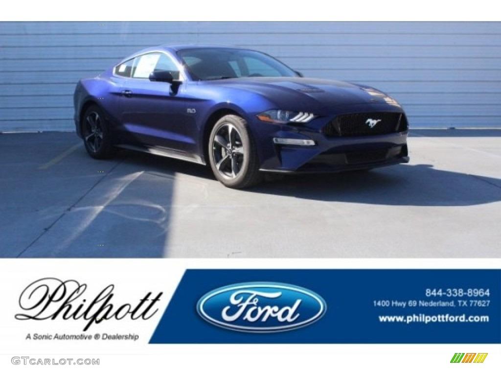 Kona Blue Ford Mustang