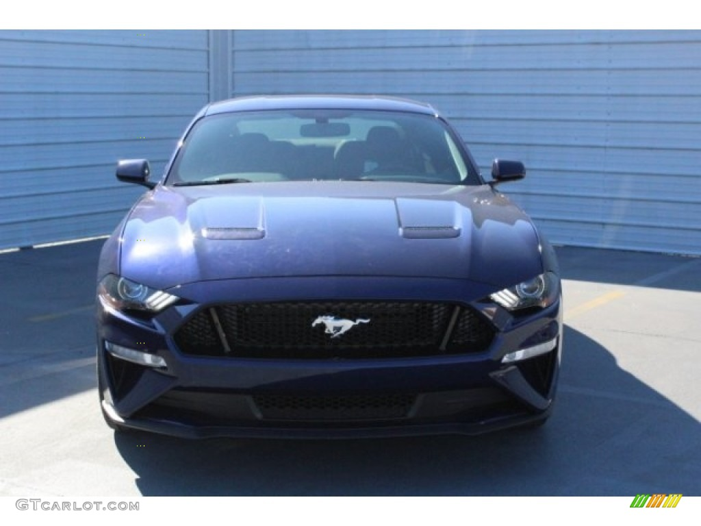 2018 Mustang GT Fastback - Kona Blue / Ebony photo #2