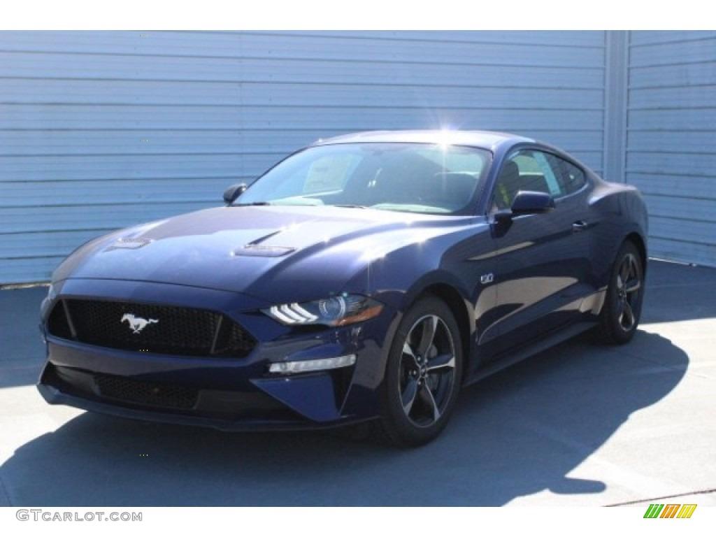 2018 Mustang GT Fastback - Kona Blue / Ebony photo #3