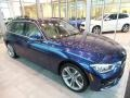 Front 3/4 View of 2018 3 Series 330i xDrive Sports Wagon