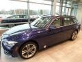 Mediterranean Blue Metallic - 3 Series 330i xDrive Sports Wagon Photo No. 3
