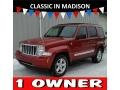 Inferno Red Crystal Pearl 2010 Jeep Liberty Limited 4x4