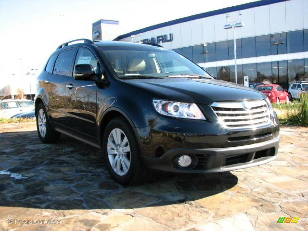 2008 obsidian black pearl subaru tribeca limited 5 passenger obsidian black pearl subaru tribeca vanachro Image collections