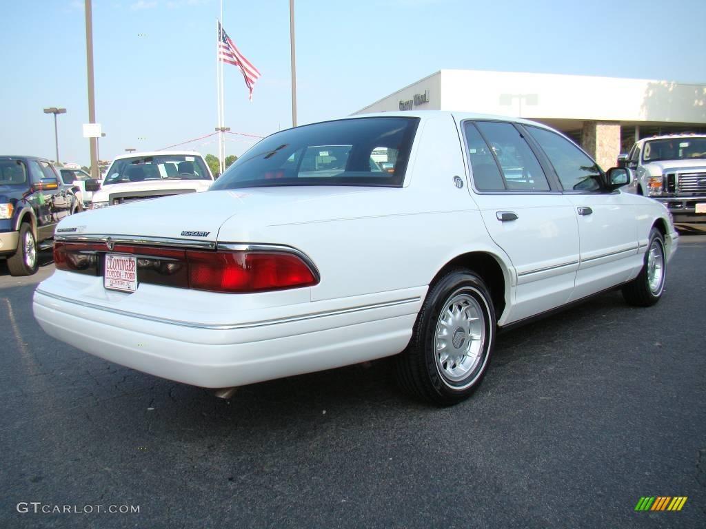 1996 vibrant white mercury grand marquis ls 12453345. Black Bedroom Furniture Sets. Home Design Ideas