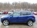 2014 Deep Impact Blue Ford Escape Titanium 2.0L EcoBoost 4WD  photo #6