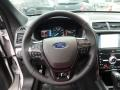 Ebony Black Steering Wheel Photo for 2018 Ford Explorer #124873866