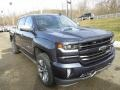 2018 Centennial Blue Metallic Chevrolet Silverado 1500 LTZ Crew Cab 4x4  photo #10