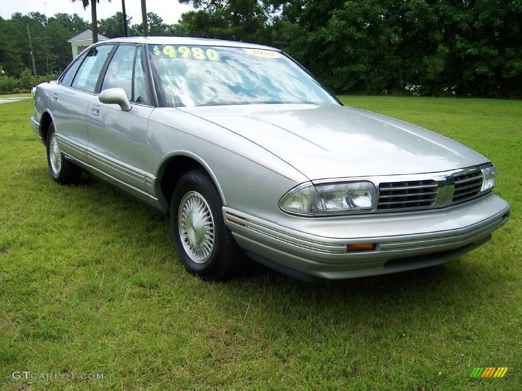 Silver Metallic Oldsmobile Regency