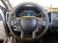 2018 Ford F250 Super Duty Earth Gray Interior Steering Wheel Photo