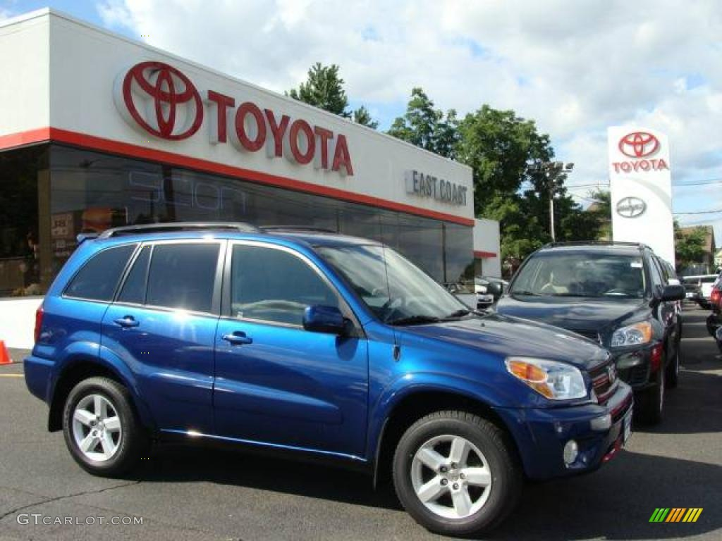 2005 spectra blue mica toyota rav4 4wd 12454014 car color galleries. Black Bedroom Furniture Sets. Home Design Ideas