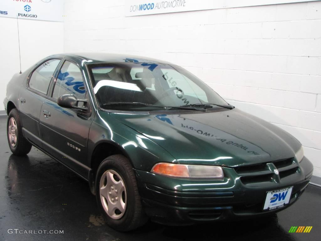 Forest green pearl dodge stratus