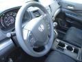 2015 Crystal Black Pearl Honda CR-V LX AWD  photo #12