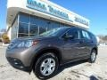 2014 Urban Titanium Metallic Honda CR-V LX AWD  photo #1