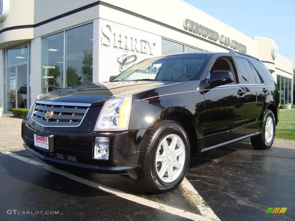 2005 Cadillac SRX V6 - Black Raven Color / Light Neutral Interior