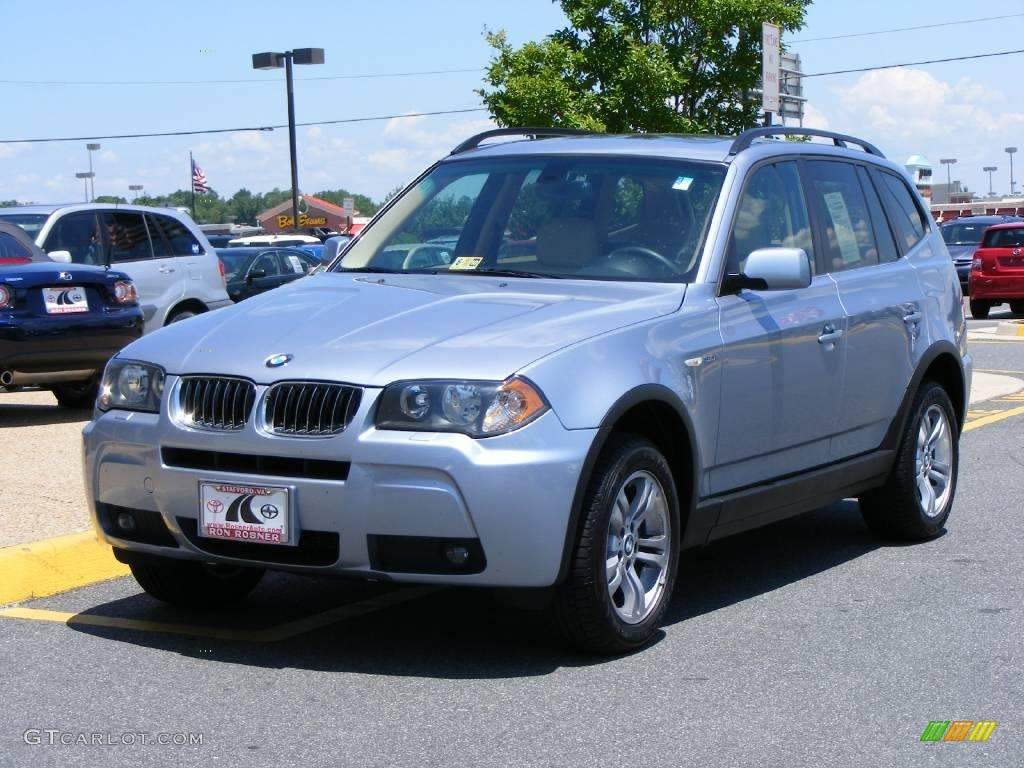 2006 blue water metallic bmw x3 12456934 car color galleries. Black Bedroom Furniture Sets. Home Design Ideas